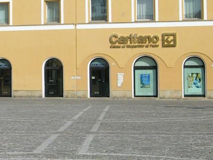 Fano: sede ex Carifano, ora Credito Valtellinese