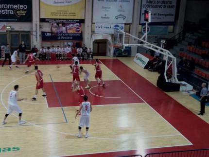 Basket: Senigallia - Campli al PalaPanzini