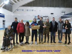 6° Memorial Pierangeli: Jack, la squadra vincitrice