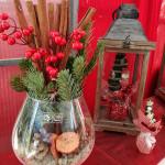 Addobbi e composizioni natalizie al vivaio Piantaviva di Senigallia