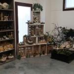 Punto vendita del Frantoio Lugliaroli di Senigallia: olio, cosmetici, tipicità