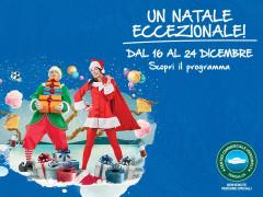 Un Natale eccezionale al Centro Commerciale Ipersimply Senigallia
