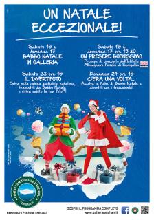Un Natale eccezionale al Centro Commerciale Ipersimply Senigallia - locandina