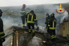 Incendio ad Ostra Vetere