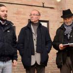 il sindaco Storoni, Antonio Volpone e Enzo Carli