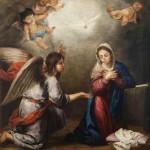 """""""L'Annunciazione"""" di Elisa Berardinelli alla Chiesa di Santa Maria Assunta a Monte Porzio"""
