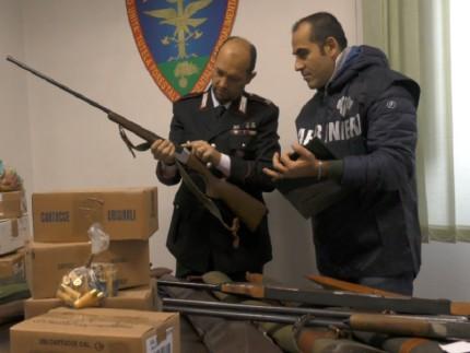 Sequestro munizioni