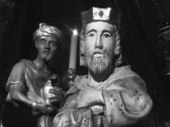 Particolare del presepe alla Chiesa della Croce