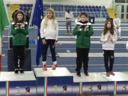 Le atlete Margherita Frulla e Chiara Baldoni