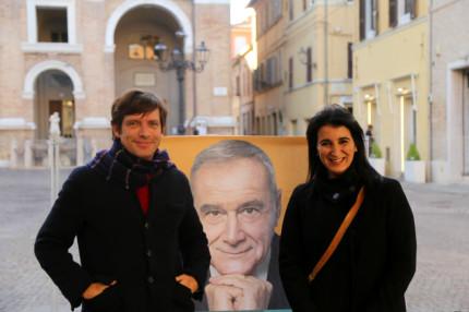 Pippo Civati e Beatrice brignone
