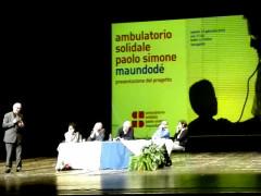 Presentazione a Senigallia per l'ambulatorio medico solidale Paolo Simone Maundodé