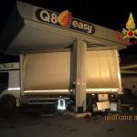 Assalto al distributore di benzina di Villa Potenza