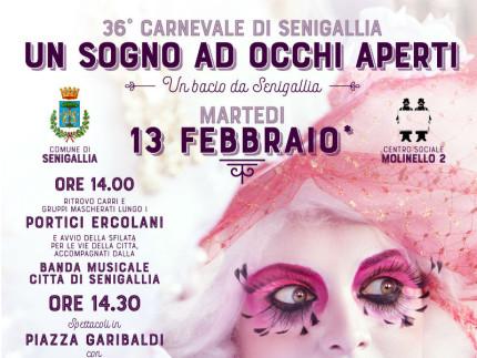 Carnevale 2018, manifesto