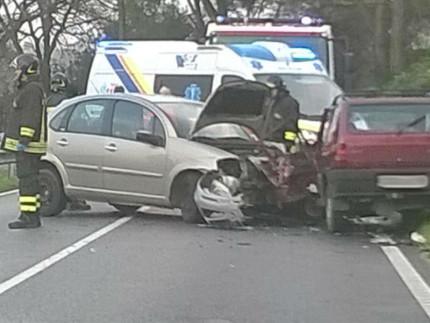 Incidente stradale sull'Arceviese