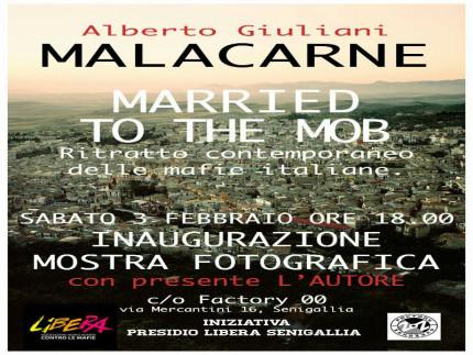 """Malacarne"", manifesto mostra"