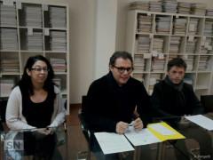 Elisa Pellegrini, Corrado Canafoglia e Marcello Mancini