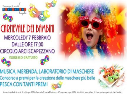 Carnevale dei bambini a Scapezzano