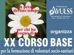 Avulss Senigallia - XX Corso base per la formazione di volontari socio-sanitari