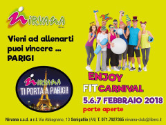 Enjoy Fit Carnival, open days di Carnevale al Nirvana Club di Senigallia