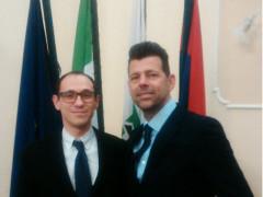 Giuseppe Togni e Maurizio Mangialardi