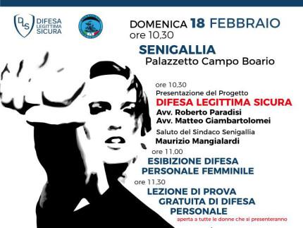 Presentazione progetto Difesa Legittima Sicura a Senigallia