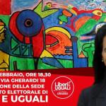 Inaugurazione sede Liberi e Uguali