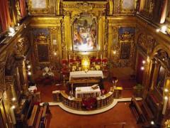 Chiesa della Croce a Senigallia: interno