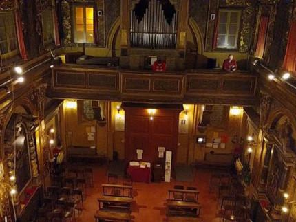 Chiesa della Croce a Senigallia: l'organo