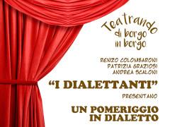 I Dialettanti alla Cesanella per Teatrando di borgo in borgo