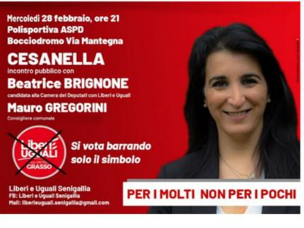 Beatrice Brignone ospite alla Cesanella