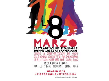 L'8 marzo alle ore 19.30 in Piazza Roma