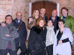 A cena con la Cultura a Ostra con Movimento Artistico Introvisione