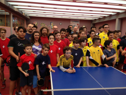 Partecipanti terzo torneo regionale CSI tennistavolo