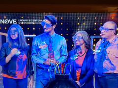 La famiglia Olivi di Senigallia in tv su Nove al gioco Boom!