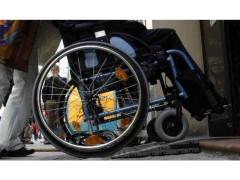 Assistenza disabili, disabilità, sedia a rotelle
