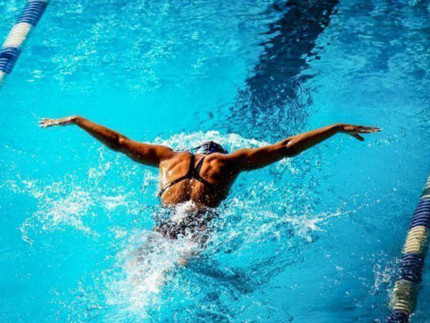 Nuoto, nuotatore, rana, piscina