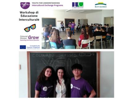workshop in italiano e inglese denominati Coloured Glasses
