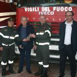 Giorgio Cecchini incontra i Vigili del Fuoco