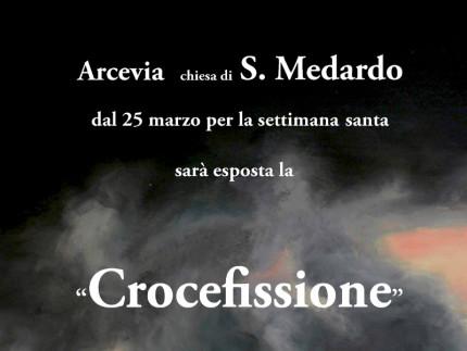 """La """"Crocefissione"""": nuova esposizione di Giuseppe Gigli ad Arcevia"""