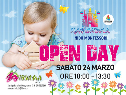 Open Day al Nido Montessori Magicabula