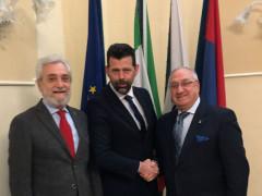 Ricevuto in Comune il nuovo fiduciario del Coni di Senigallia Vittorio De Salsi