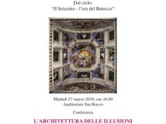 L'architettura delle illusioni - conferenza a Senigallia