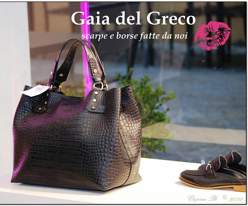 Gaia del Greco, calzature, borse e accessori a Senigallia