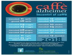 Caffè Alzheimer, prossimi appuntamenti