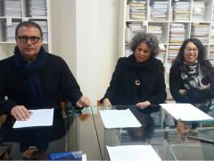 Corrado Canafoglia, Alberta Cardinali ed Elisa Pellegrini