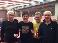 Tennistavolo: appassionati di Padova con Sabrina Moretti