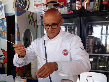 Roberto Abbruciati a Le Coco Beach, american bar a Senigallia