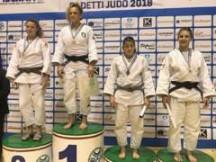 Carolina Mengucci al secondo posto