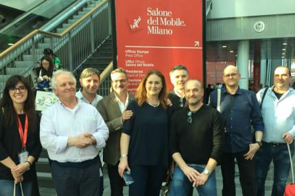 Confartigianato Pesaro al Salone Mobile