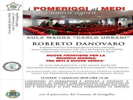 Incontro con Roberto Danovaro